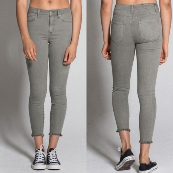 RSQ Denim - rsq olive green cali high rise jeans